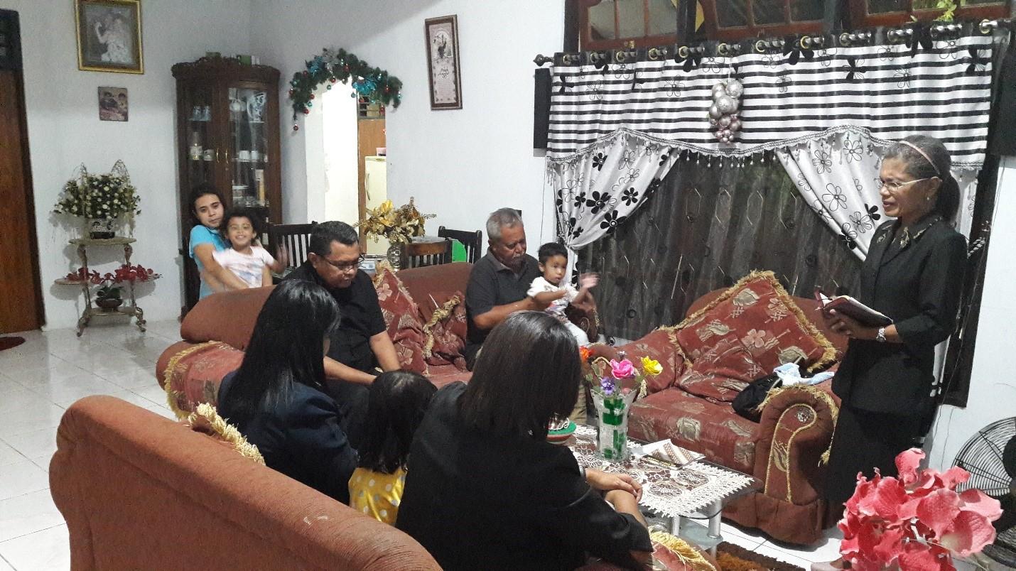 Perkunjungan Pastoral Keluarga di Sektor VII