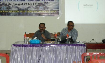 Jemaat Silo adakan Seminar Sehari tentang Pencegahan Ideologi Radikal