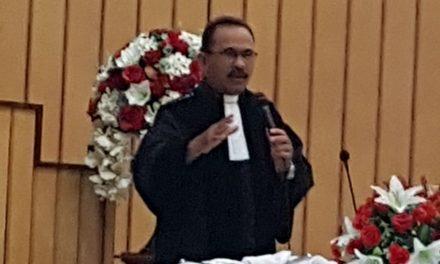 Doa Bersama Persiapan Pelaksanaan Pergantian Tegel Gedung Gereja Silo