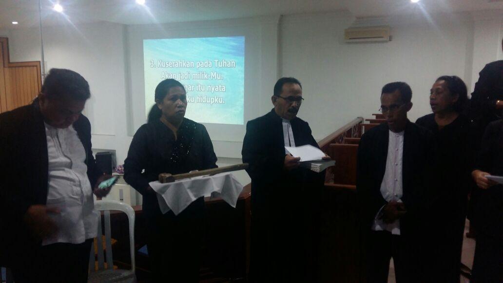 Akta Pembongkaran dan Pergantian Tegel Gedung Gereja Silo