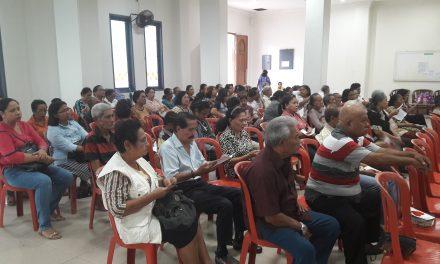 WGS Jemaat Silo Belajar tentang Hidup Sehat di Usia Lanjut