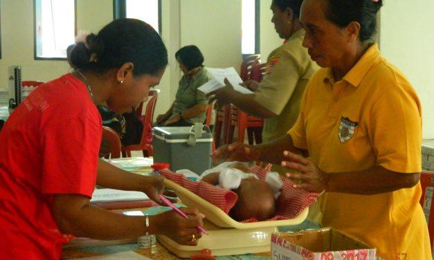 Pengobatan Gratis Posyandu Siloam dan Eunike