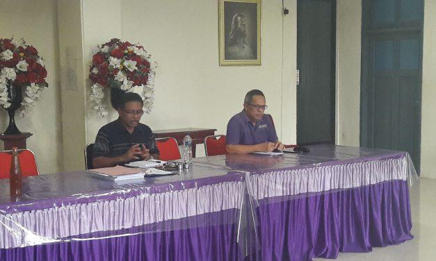 PHMJ Silo Lakukan Pembinaan Pegawai Gereja