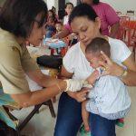 60 BALITA Imunisasi Rubella di Silo