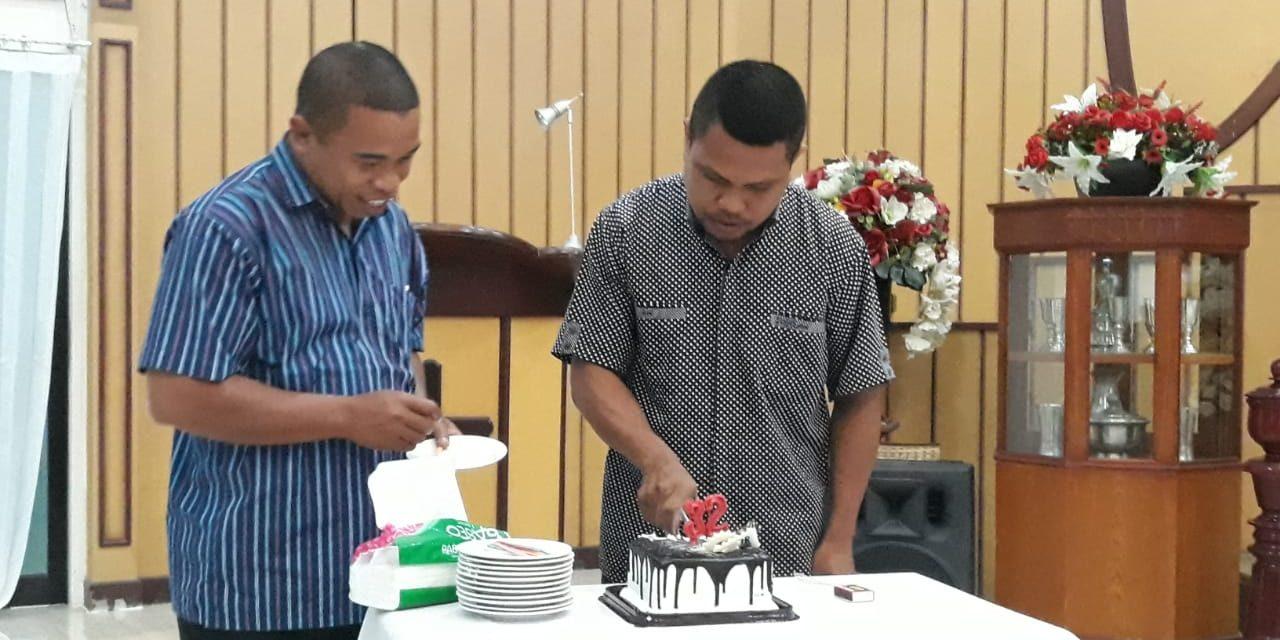 Perayaan HUT ke-32 Laki-Laki GPM di Silo, Sederhana tapi Bermakna