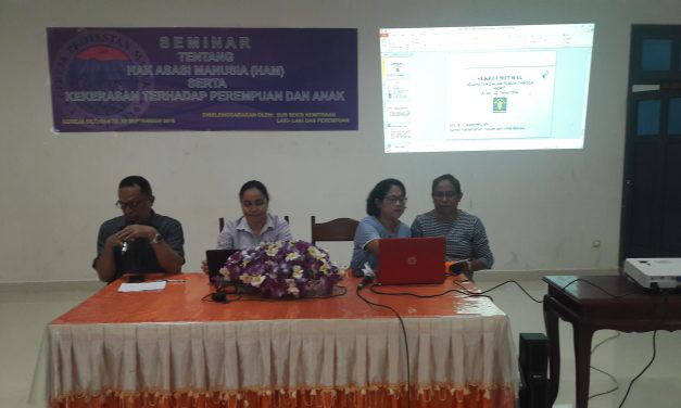 Silo Gelar Seminar HAM & KDRT