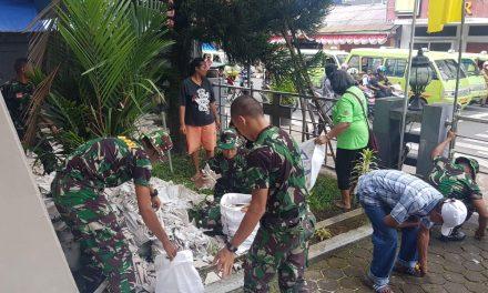 Jelang HUT GPM, Silo Bersih-Bersih Lingkungan Gereja