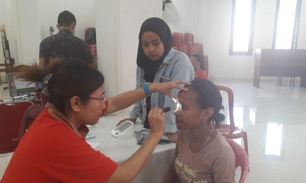 Sosialisasi dan Pemeriksaan Mata : Perempuan Silo Peduli Kesehatan Mata