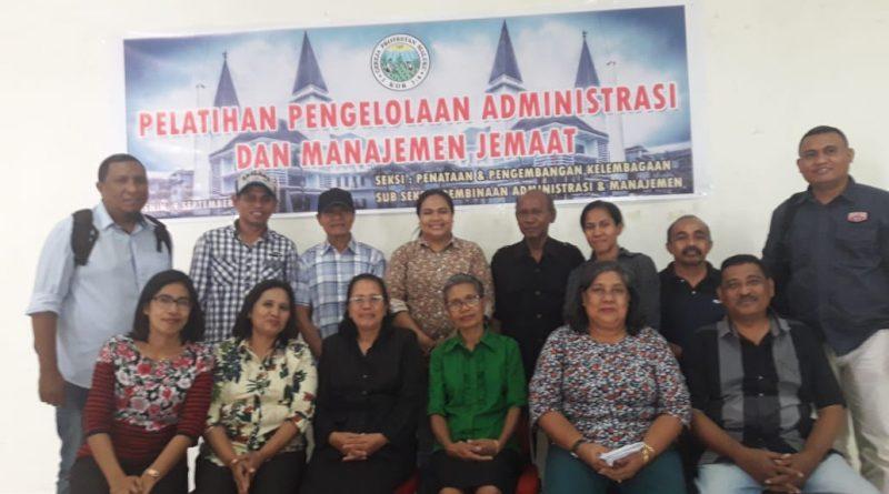 Pelatihan Pengelolaan Administrasi dan Manajemen Jemaat bagi Pegawai SILO