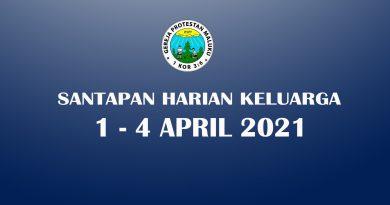 SHK 1 - 4 APRIL 2021