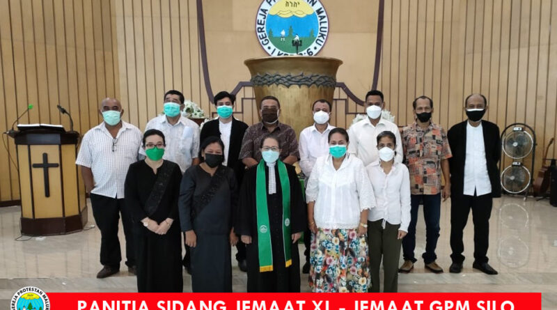 Pelantikan Panitia Sidang XL Jemaat GPM Silo